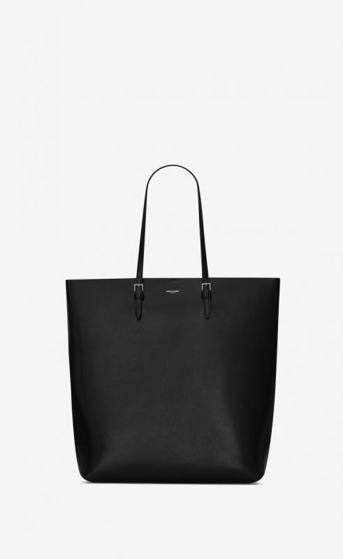 Tote bag in coated embossed leather (607650H3Z0E1000)