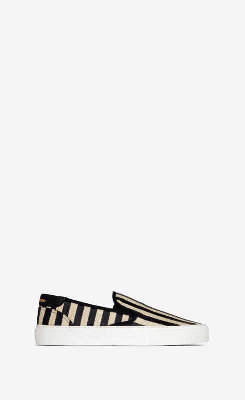VENICE slip-on in striped elaphe (585736L0I407074)