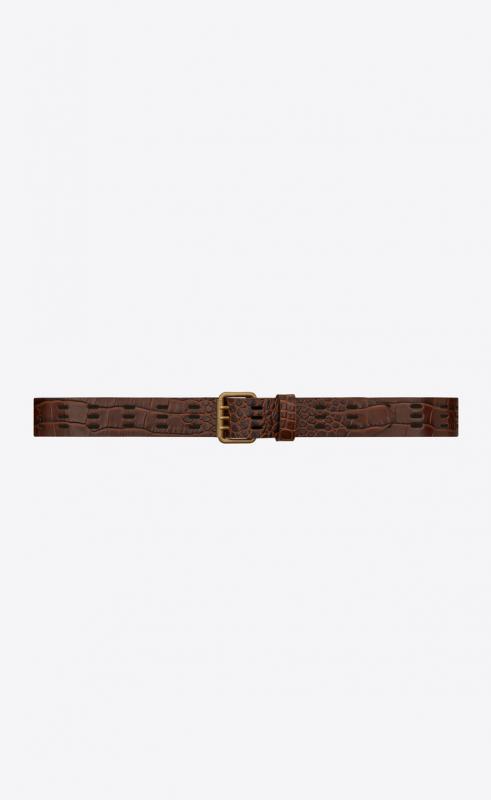 vintage belt bag in lacquered python (620294EML0D1000)