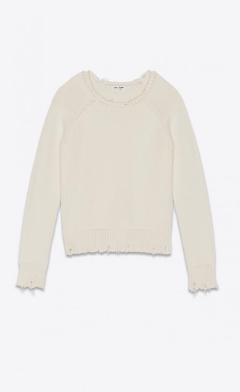 wool turtleneck sweater (631861YALK22611)